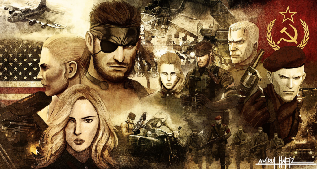 fan art metal gear solid